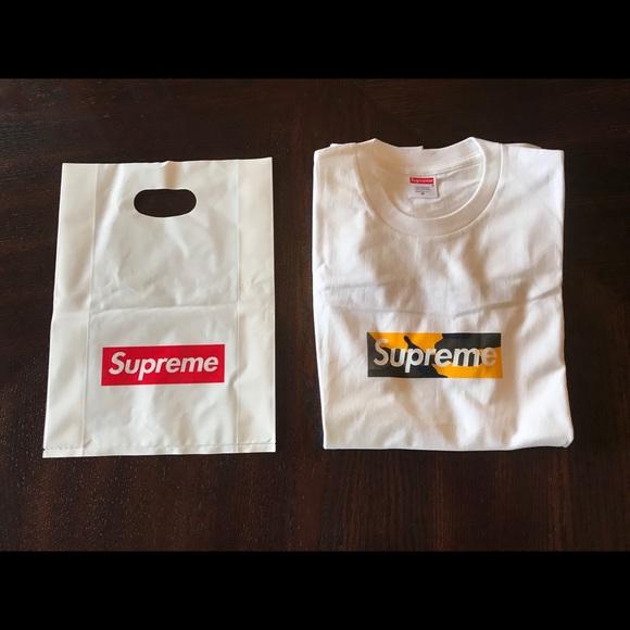 7828f7d0261a Shirts | Supreme Brooklyn Box Logo Tee Size Medium | Poshmark